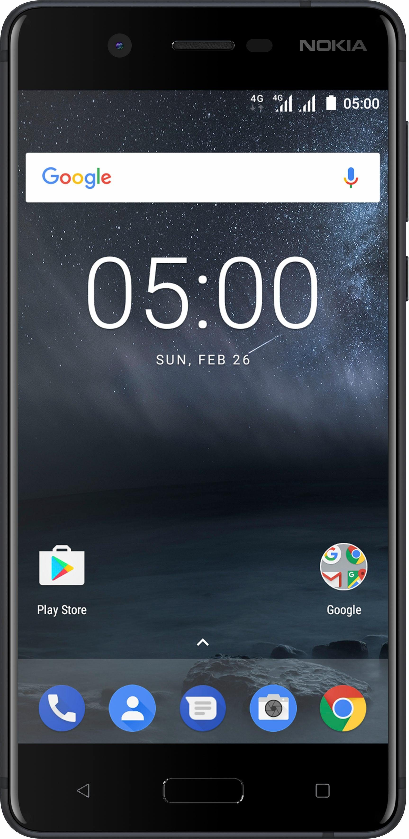 Nokia 5 Dual SIM Smartphone, 13,2 cm (5,2 Zoll) Display, LTE (4G), Android 7.1 Nougat