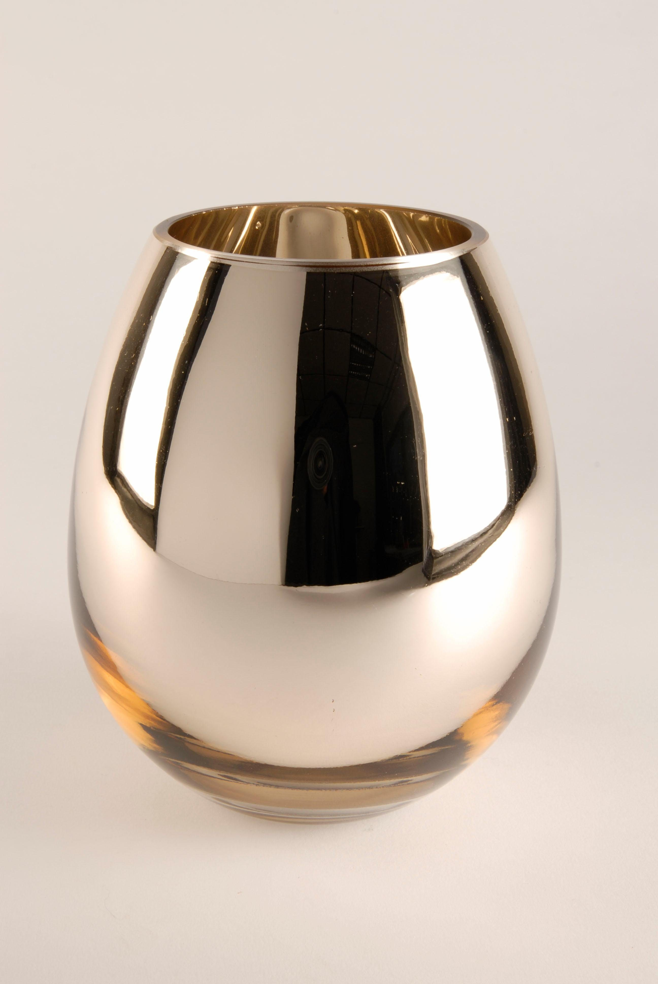 Home affaire Vase goldfarben »Style«