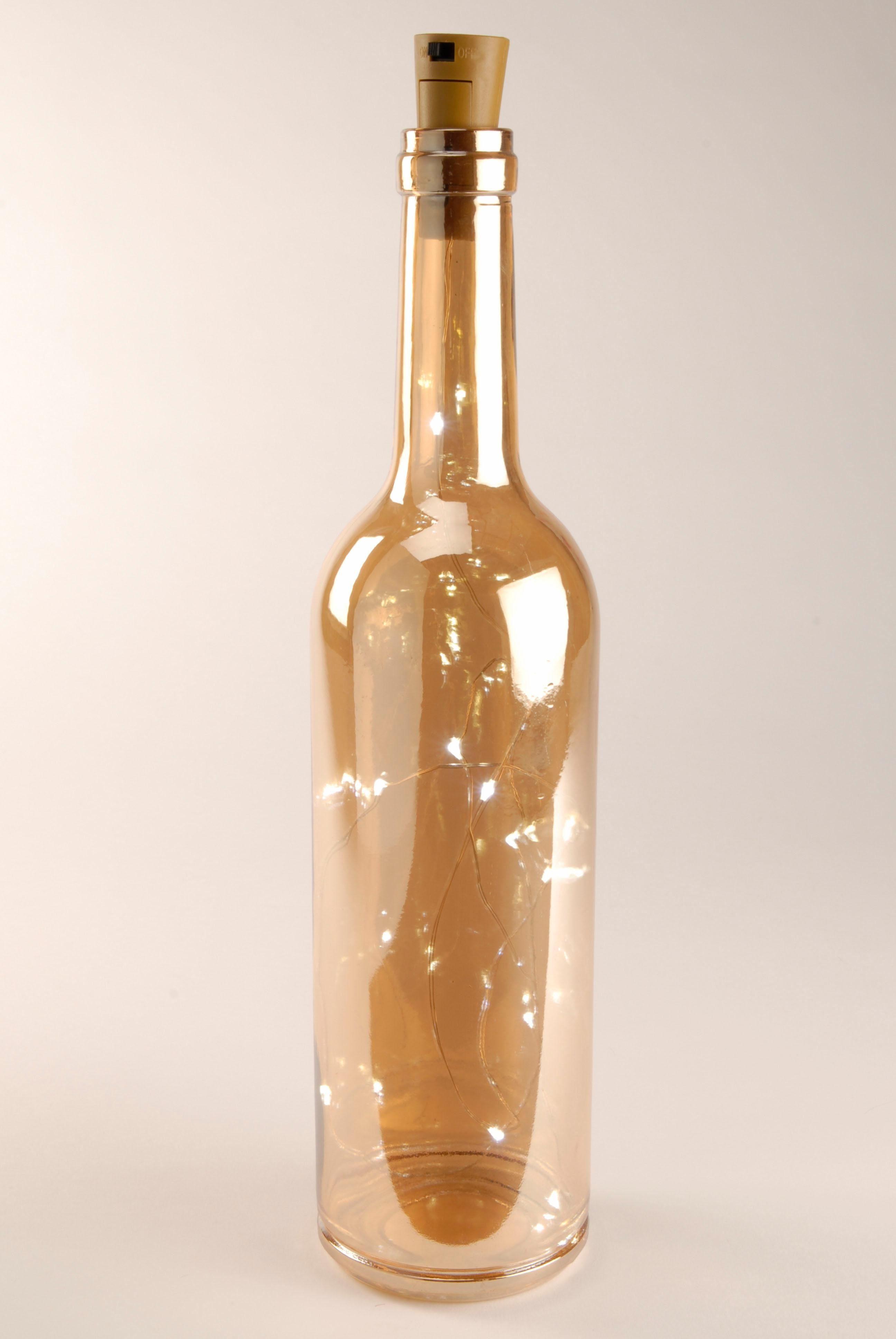 Home affaire LED-Dekoration »Flasche« (2er Set)