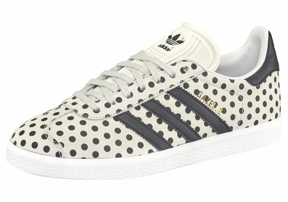 adidas Originals »Gazelle W« Sneaker, grau, stone-schwarz