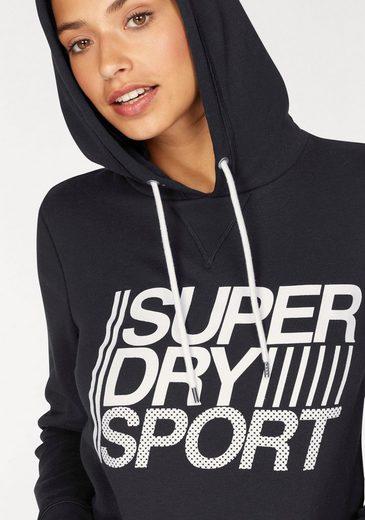 Superdry Sweatshirt SD SPORT ESSENTIALS HOOD