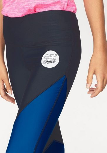 Superdry Funktionstights SD SPORT COLOUR BLOCK LEGGING