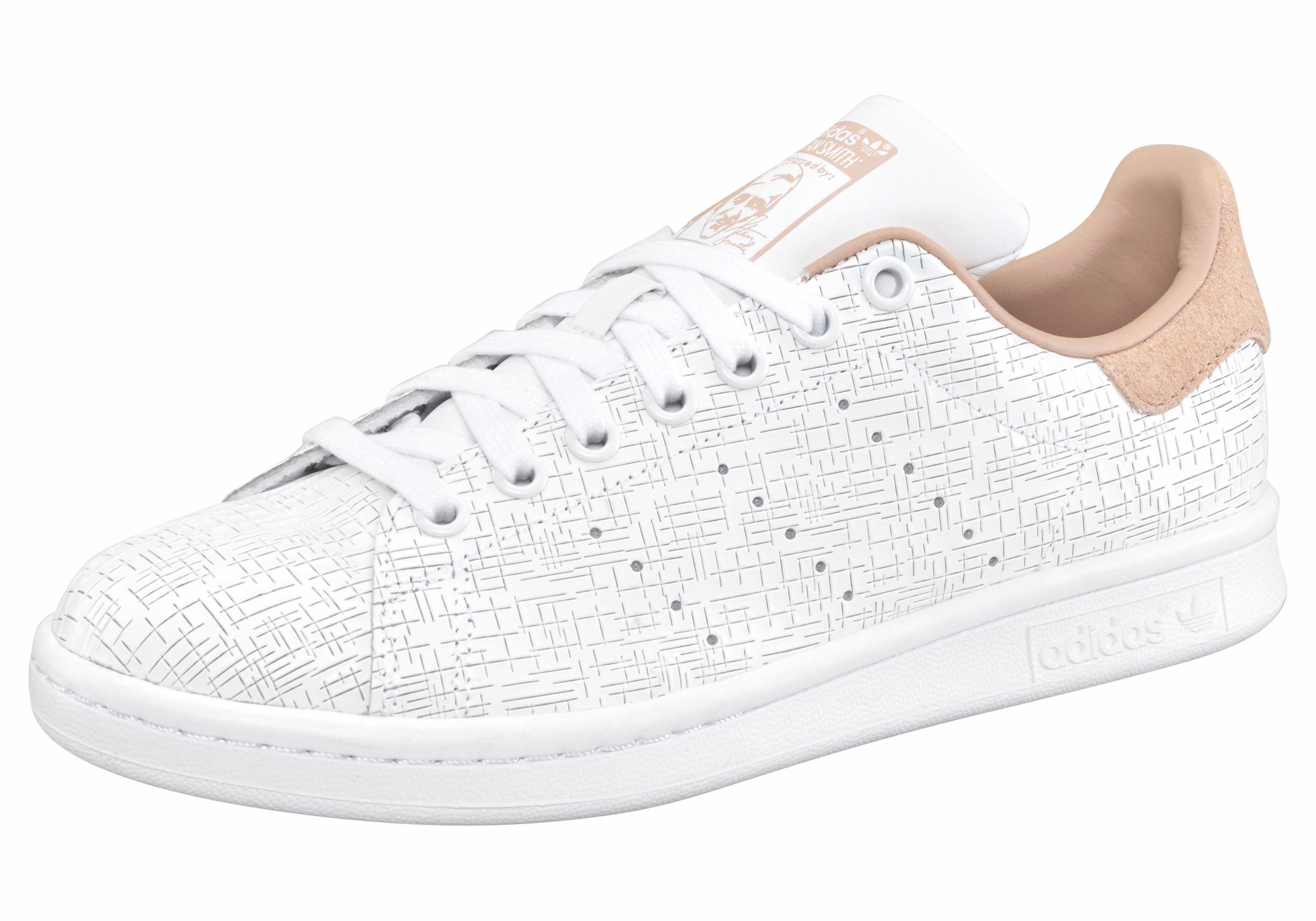 adidas Originals »Stan Smith W« Sneaker, weiß, weiß-nude