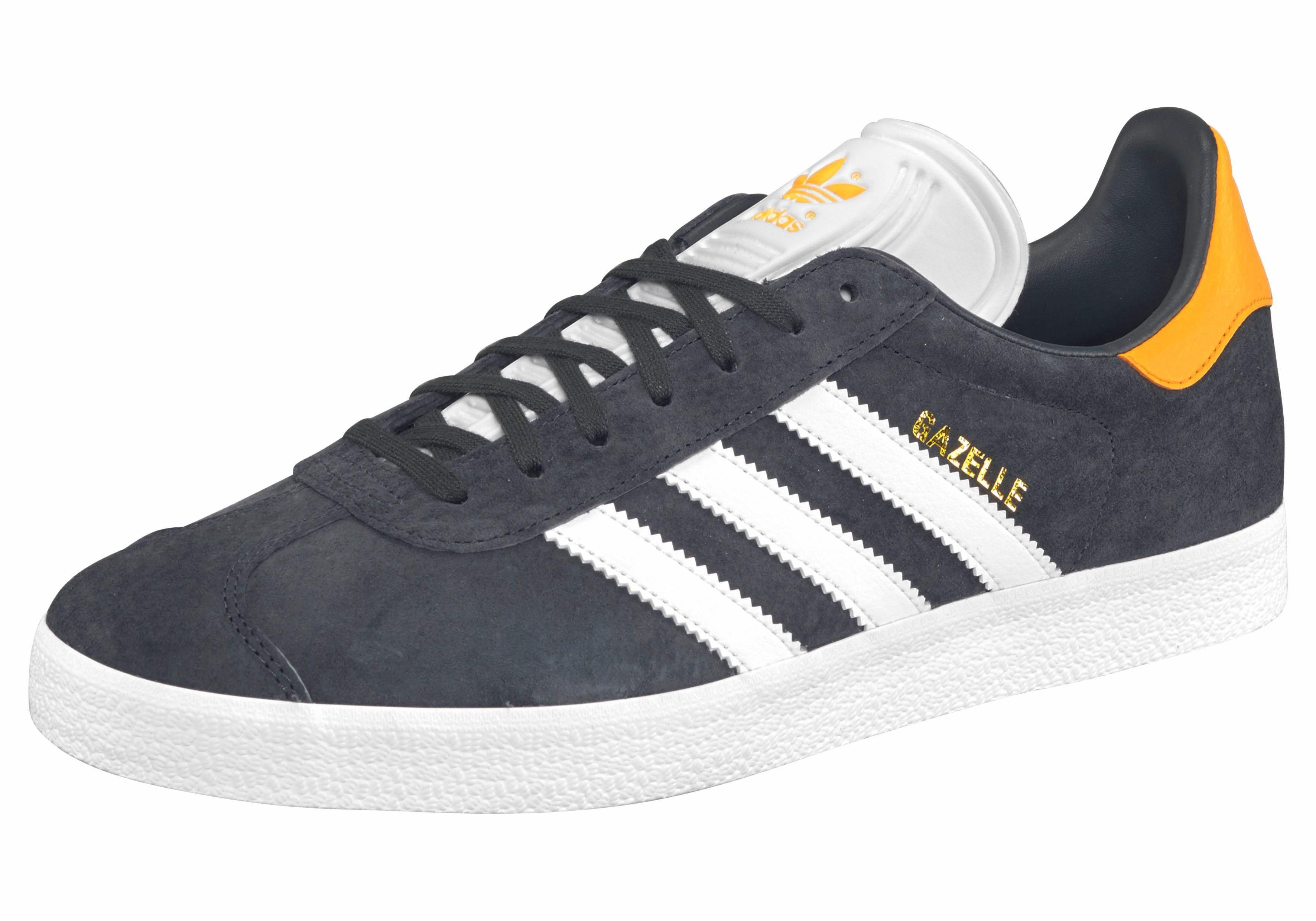 adidas Originals Gazelle Sneaker, Unisex kaufen  anthrazit-orange