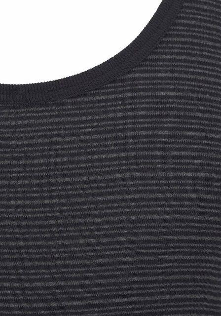 schiesser -  Feinripp Unterhemd geringelt