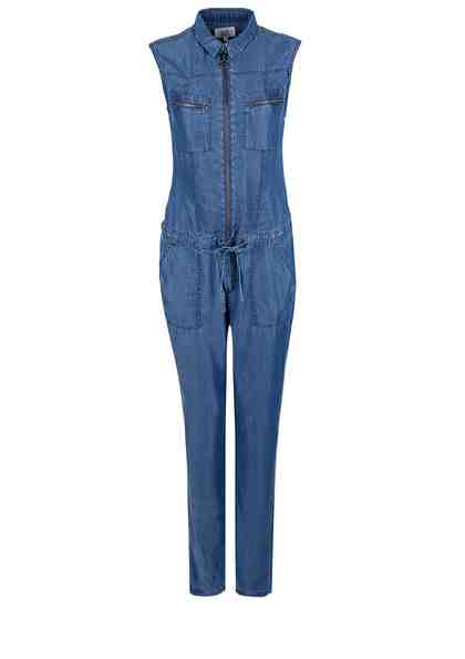 Q/S designed by Leichter Denim-Jumpsuit