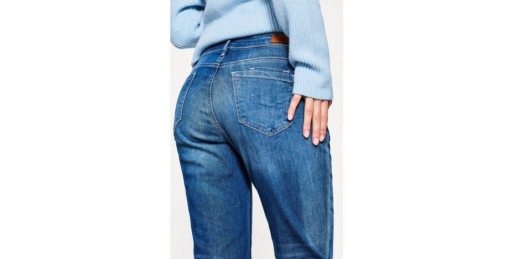 EDC BY ESPRIT Boyfriend-Jeans aus Stretch-Denim Grau-Outlet-Store Online Manchester Zum Verkauf Billig Verkauf Bester Verkauf NMXXBhvT