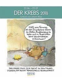 Kalender »Der Krebs 2018. Sternzeichen-Cartoonkalender«
