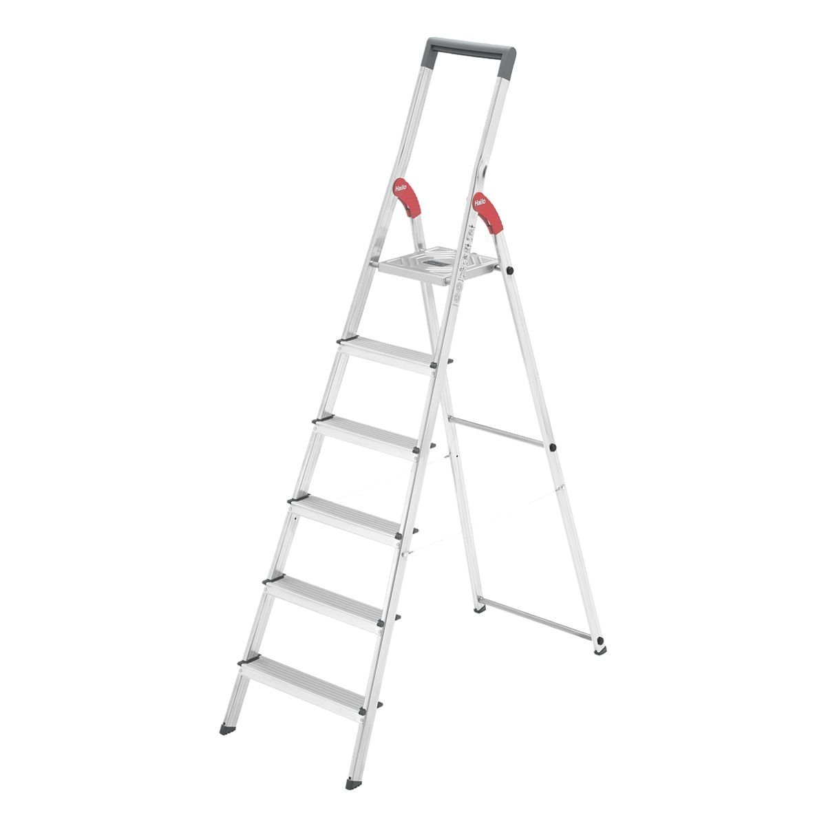 Hailo Sicherheits-Stufenstehleiter »ProfiLine S 150« | Baumarkt > Leitern und Treppen > Stehleiter | Stahl | Hailo