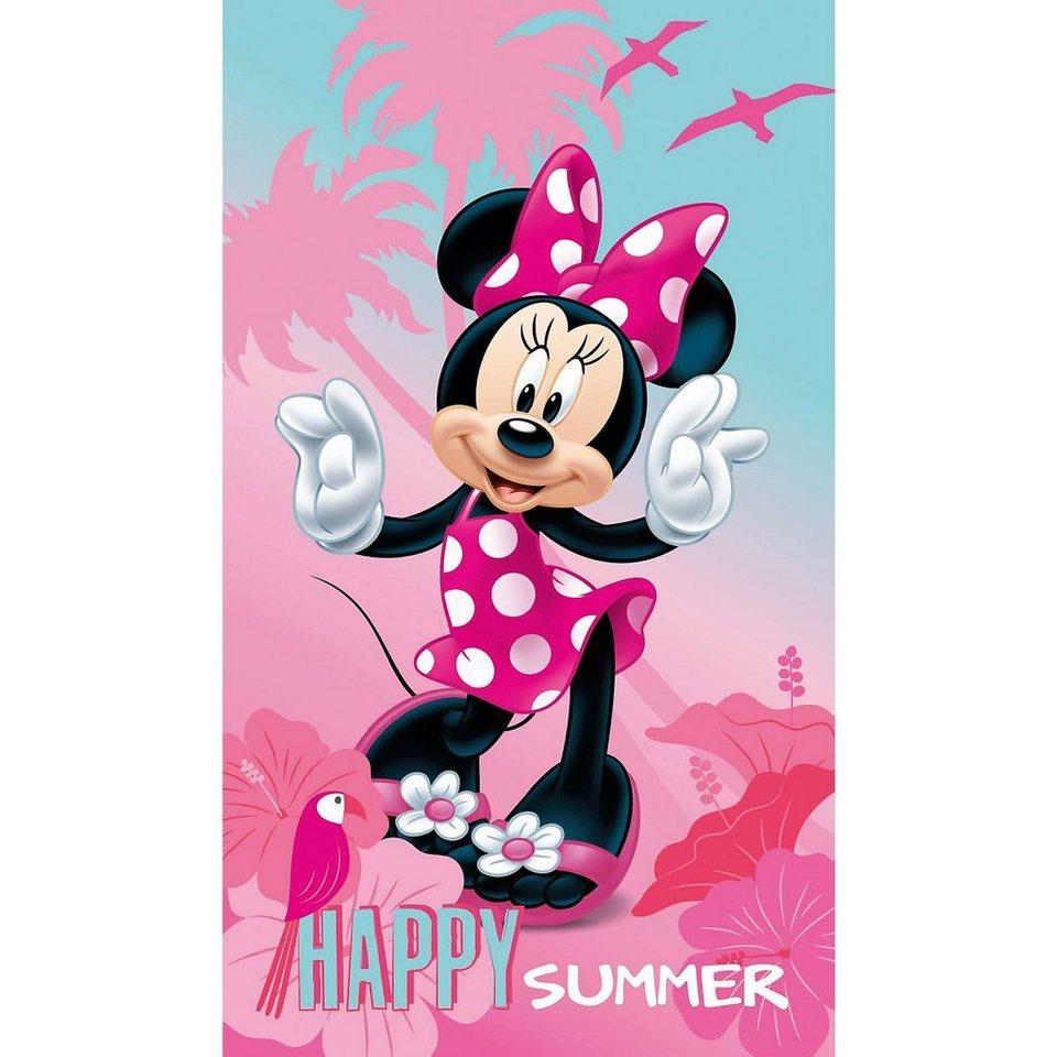 CTI Strand- / Badetuch Minnie Mouse, 70 x 120 cm   OTTO