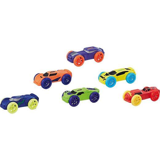 Hasbro Nerf Nitro Soft Racer 6er Pack, Sortiment