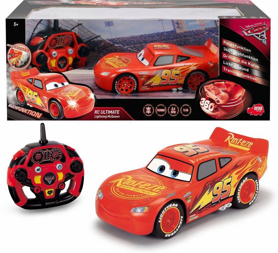 Dickie Toys Rc Fahrzeug Mit Rauchfunktion Disney Pixar Cars 3