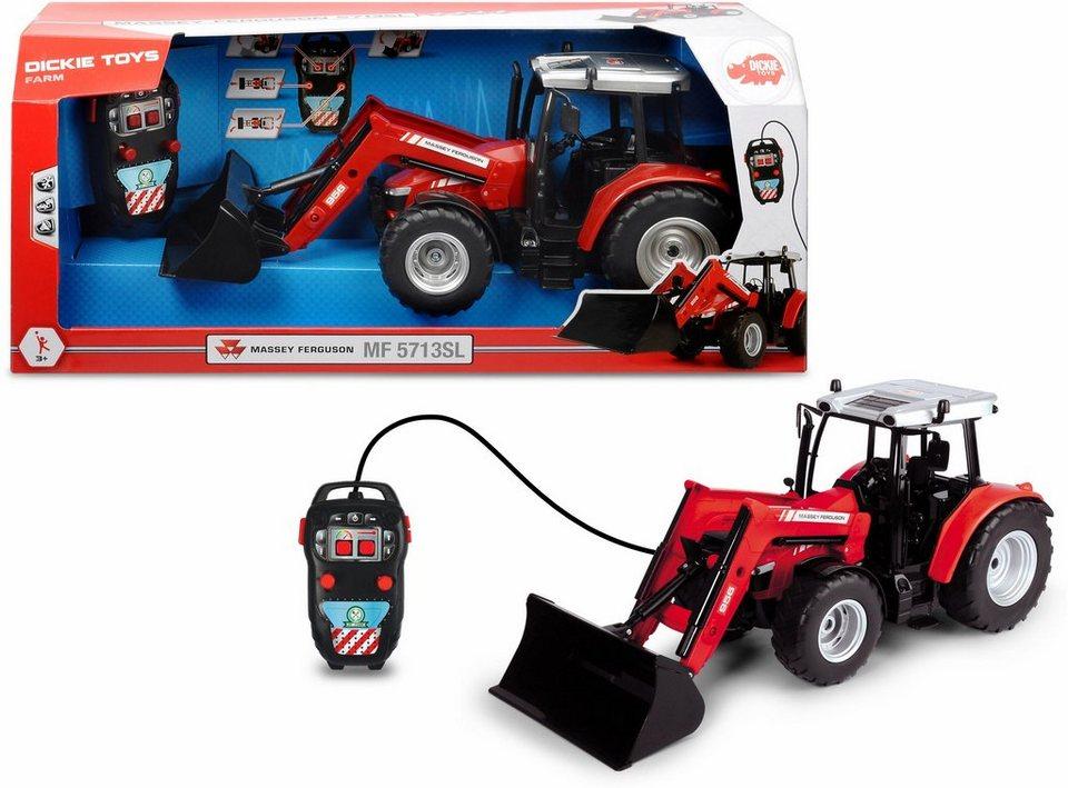 Dickie toys ferngesteuerter traktor massey ferguson