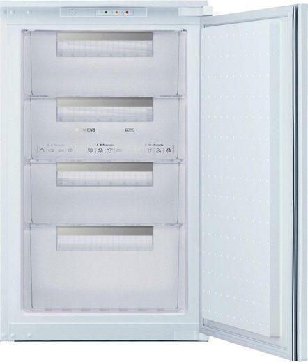 SIEMENS Einbaugefrierschrank GI18DA30, 87,4 cm hoch, 54,1 cm breit