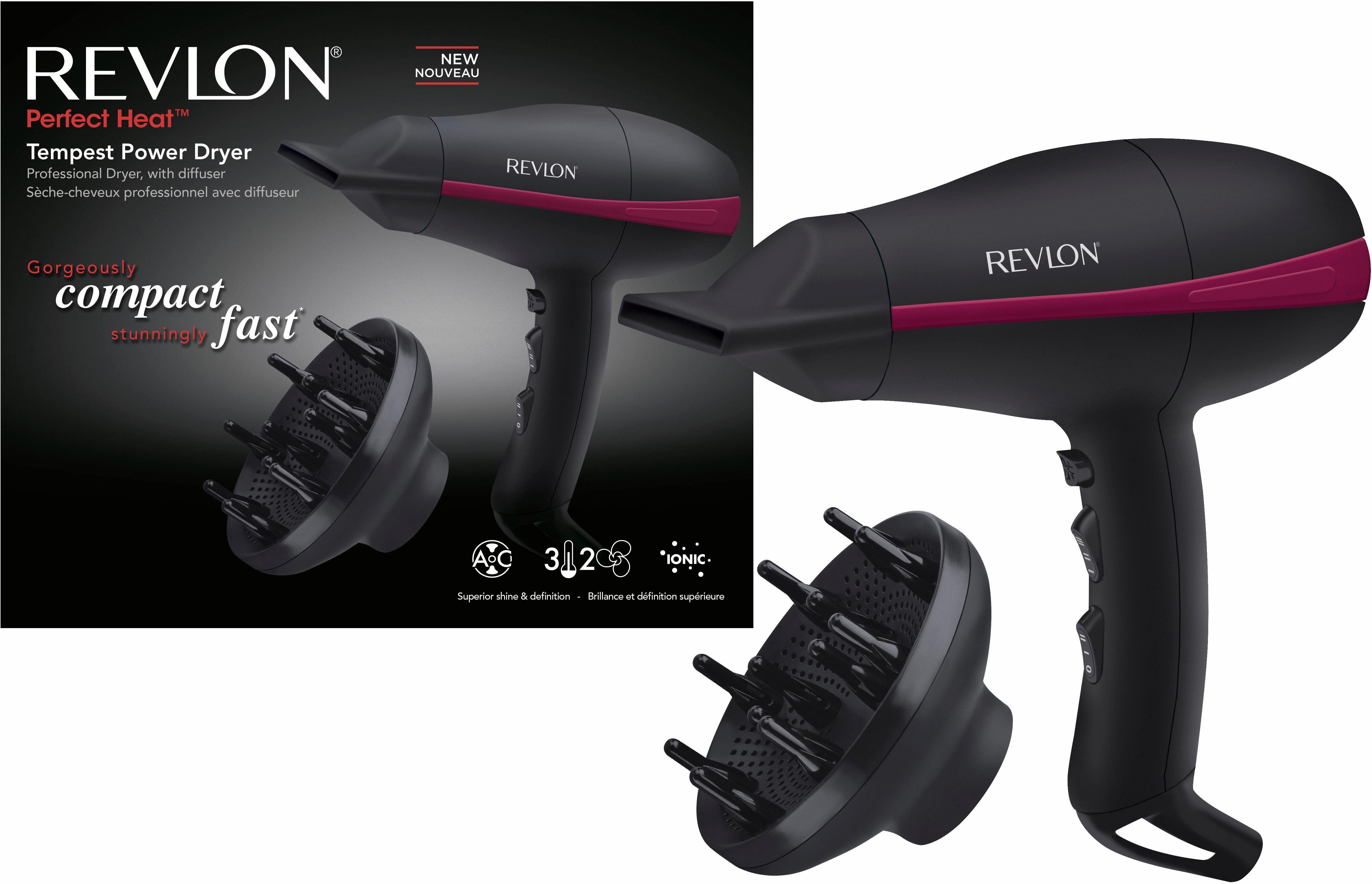 Revlon® Haartrockner TEMPEST AC POWER DRYER RVDR5821DE für feines, dünnes Haar