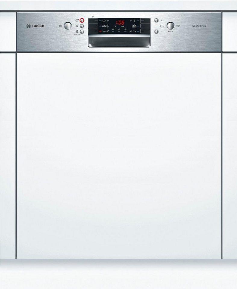 Bosch teilintegrierbarer geschirrspuler smi46gs00e a 7 for Teilintegrierbarer geschirrspüler