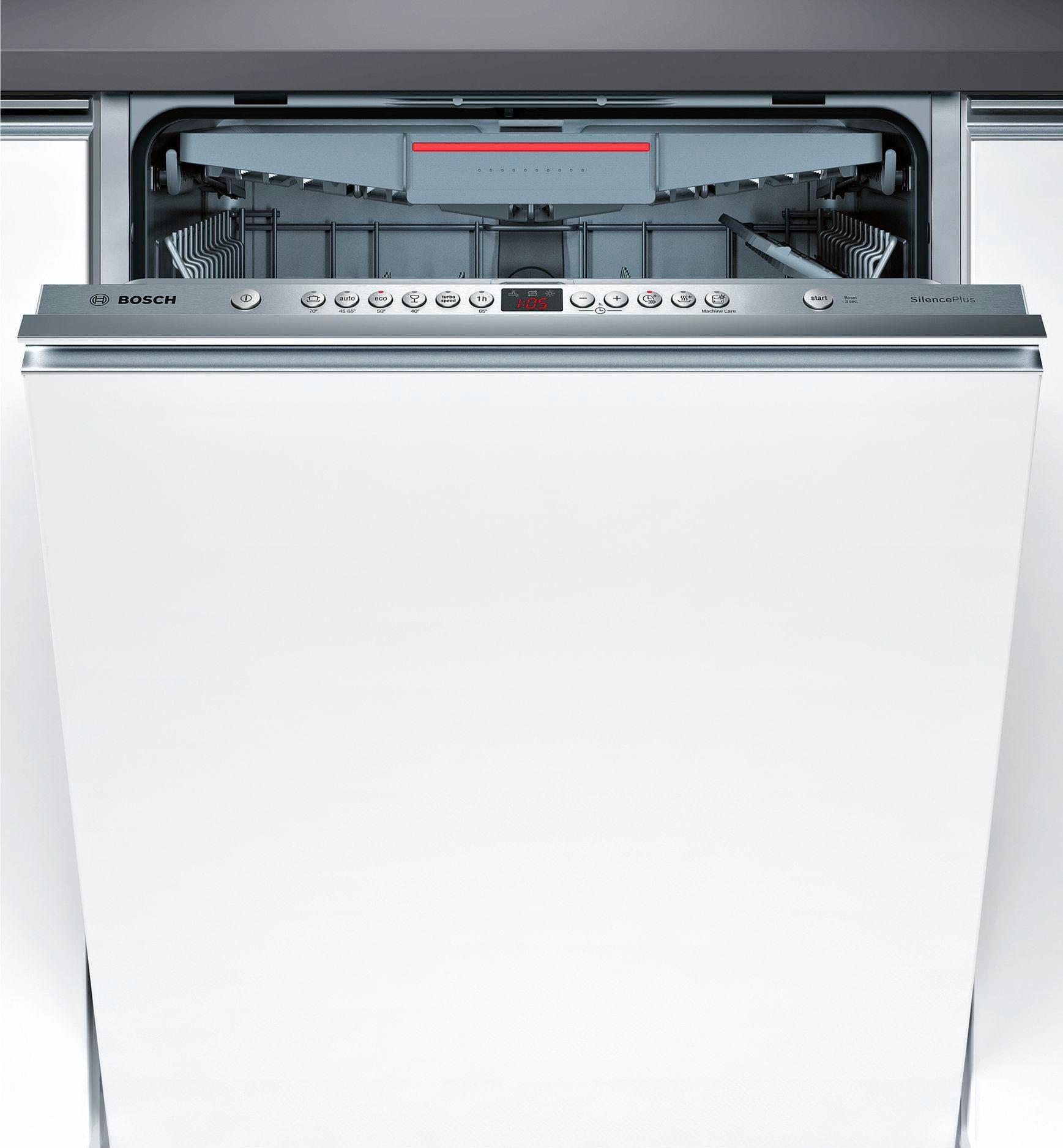 BOSCH Vollintegrierbarer Einbaugeschirrspüler SMV46KX00E, A++, 7,5 Liter, 13 Maßgedecke