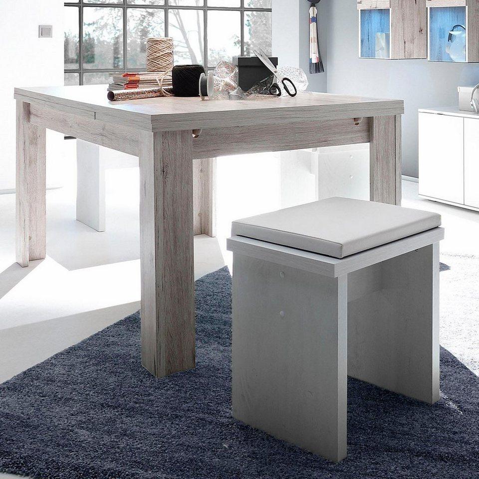 Esstisch Ausziehbar Breite 180 280 Cm 2 5 Cm Starke Tischplatte