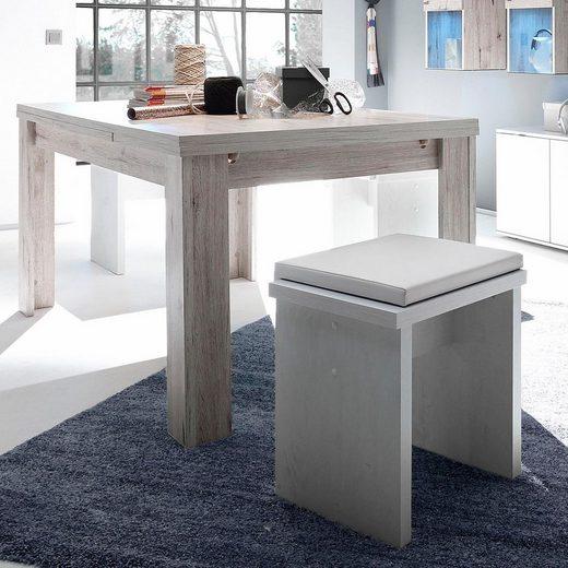 Esstisch, ausziehbar, Breite 160-260 cm