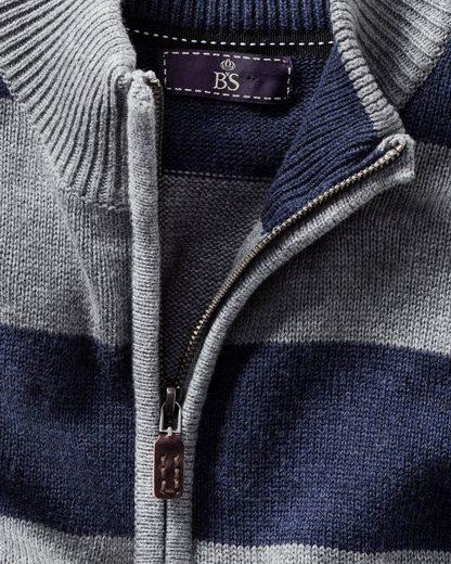 B. von Schönfels Pullover mit Blockstreifen