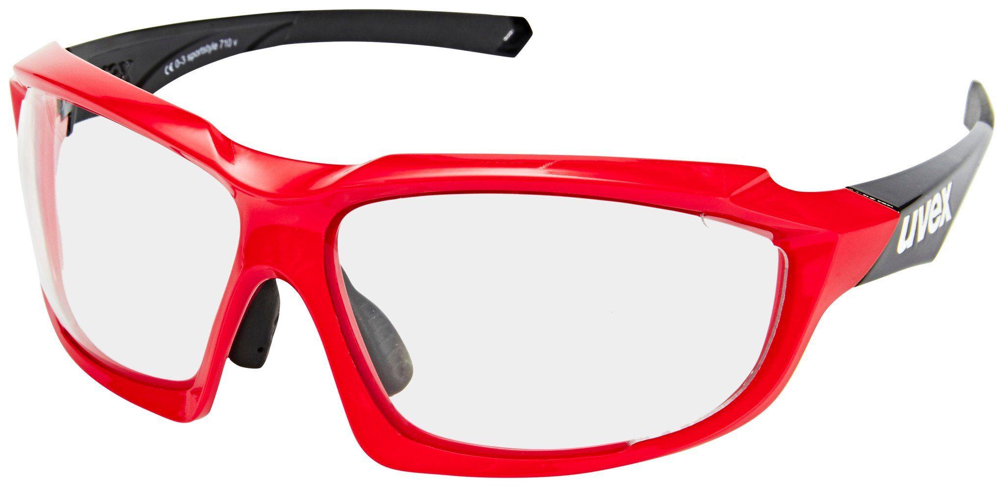 Uvex Radsportbrille »Sportstyle 710 V«
