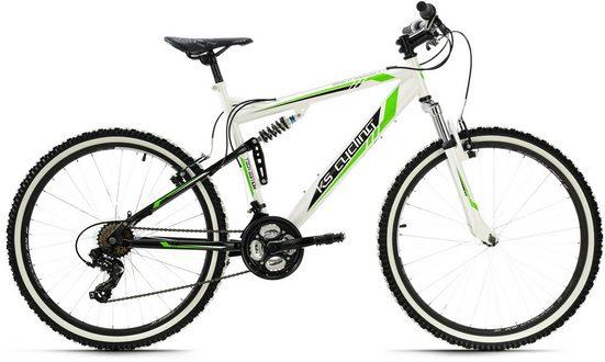 KS Cycling Mountainbike »Scrawler«, 21 Gang Shimano Tourney Schaltwerk, Kettenschaltung