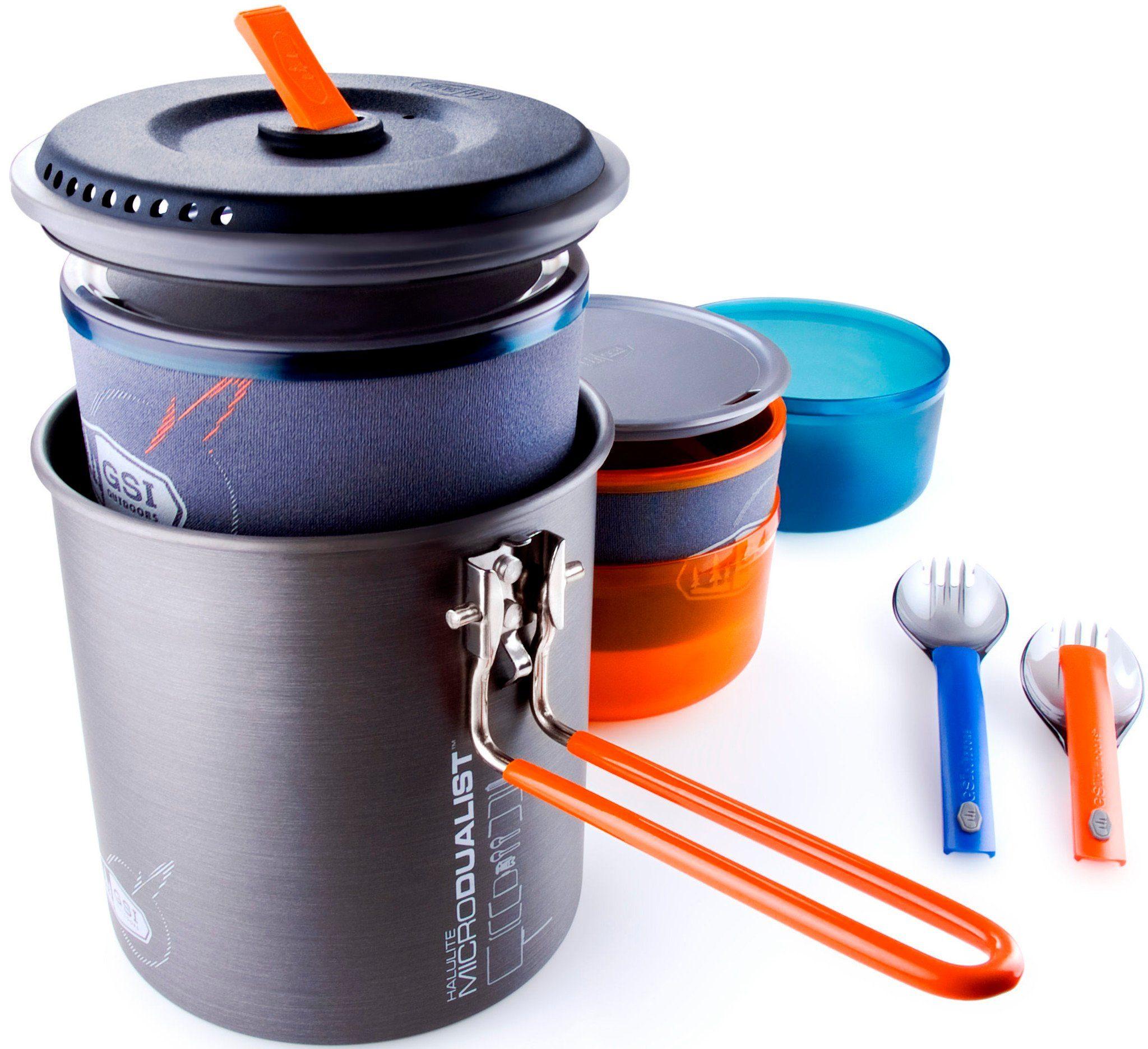 GSI Camping-Geschirr »Halulite Microdualist«
