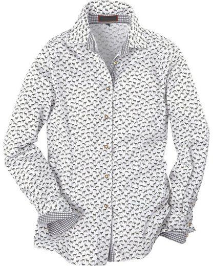 Reitmayer Bluse mit Hirschdruck