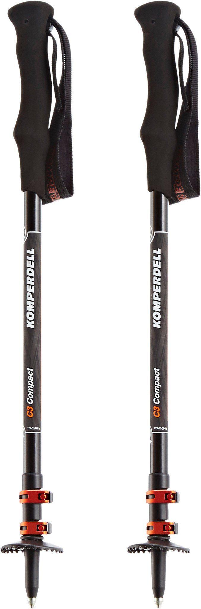 Komperdell Wanderstock »C3 Carbon Powerlock Compact Poles«