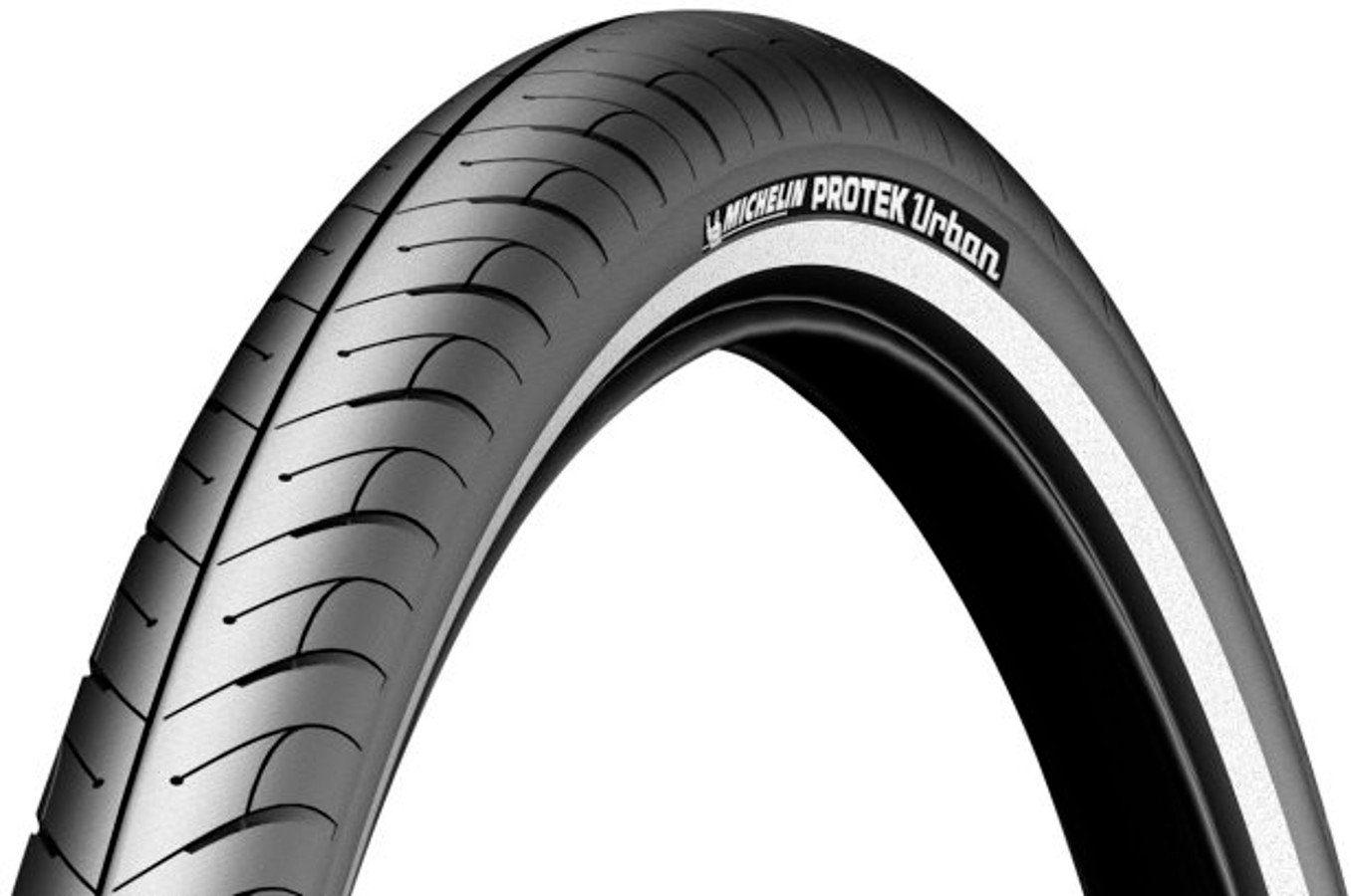 """Michelin Fahrradreifen »Protek Urban 26"""" Draht Reflex«"""