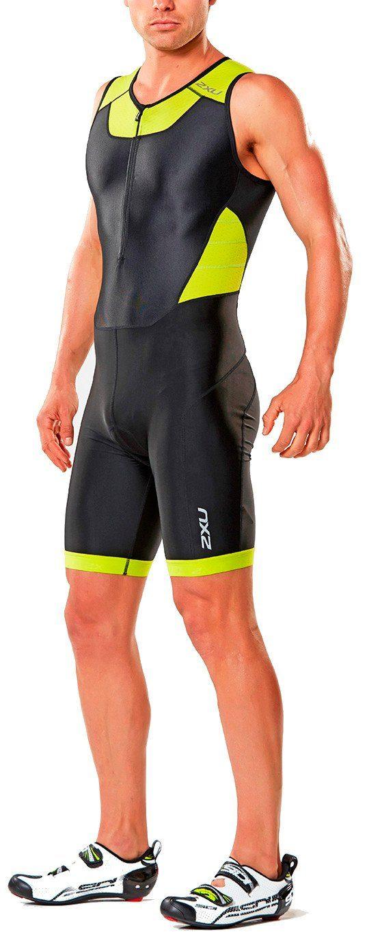 2xU Triathlonbekleidung »X-Vent Trisuit Men Front Zip«