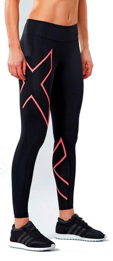 2xU Hose Mid-Rise Compression Tights Women