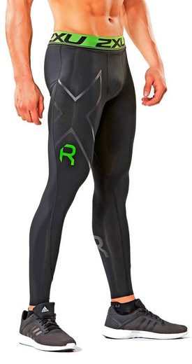 2xU Laufhose Refresh Recovery Tights Men