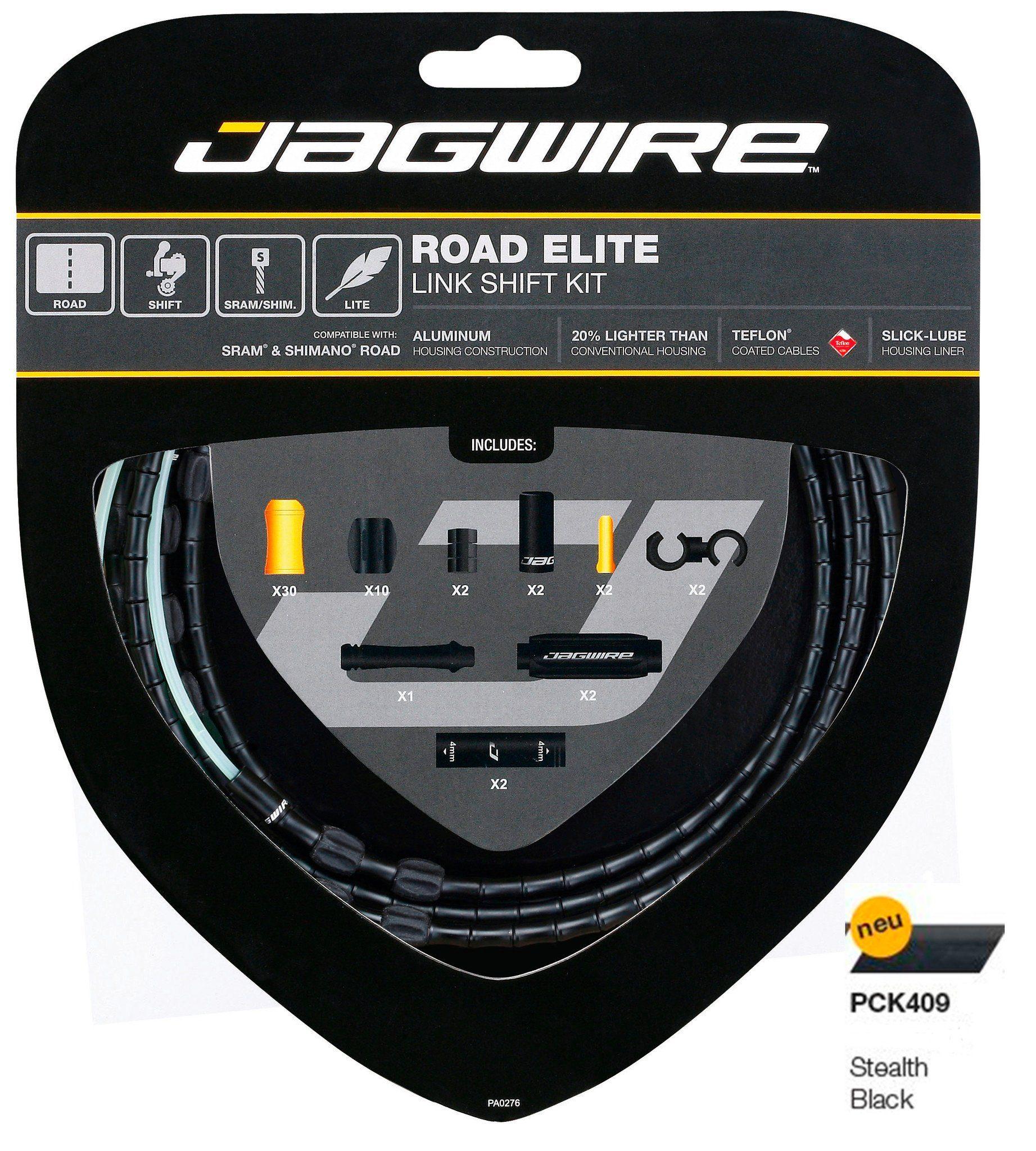 Jagwire Schaltung »Road Elite Link Limited Schaltzugset«