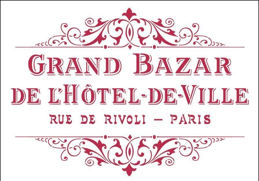 "Stamperia Mal-Schablone ""Grand Bazar"" DIN A4"
