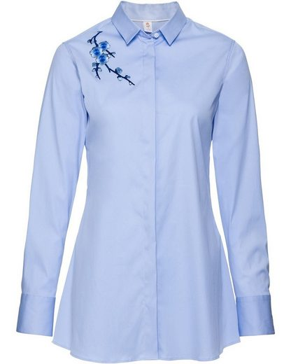 SEIDENSTICKER Bluse, bestickt