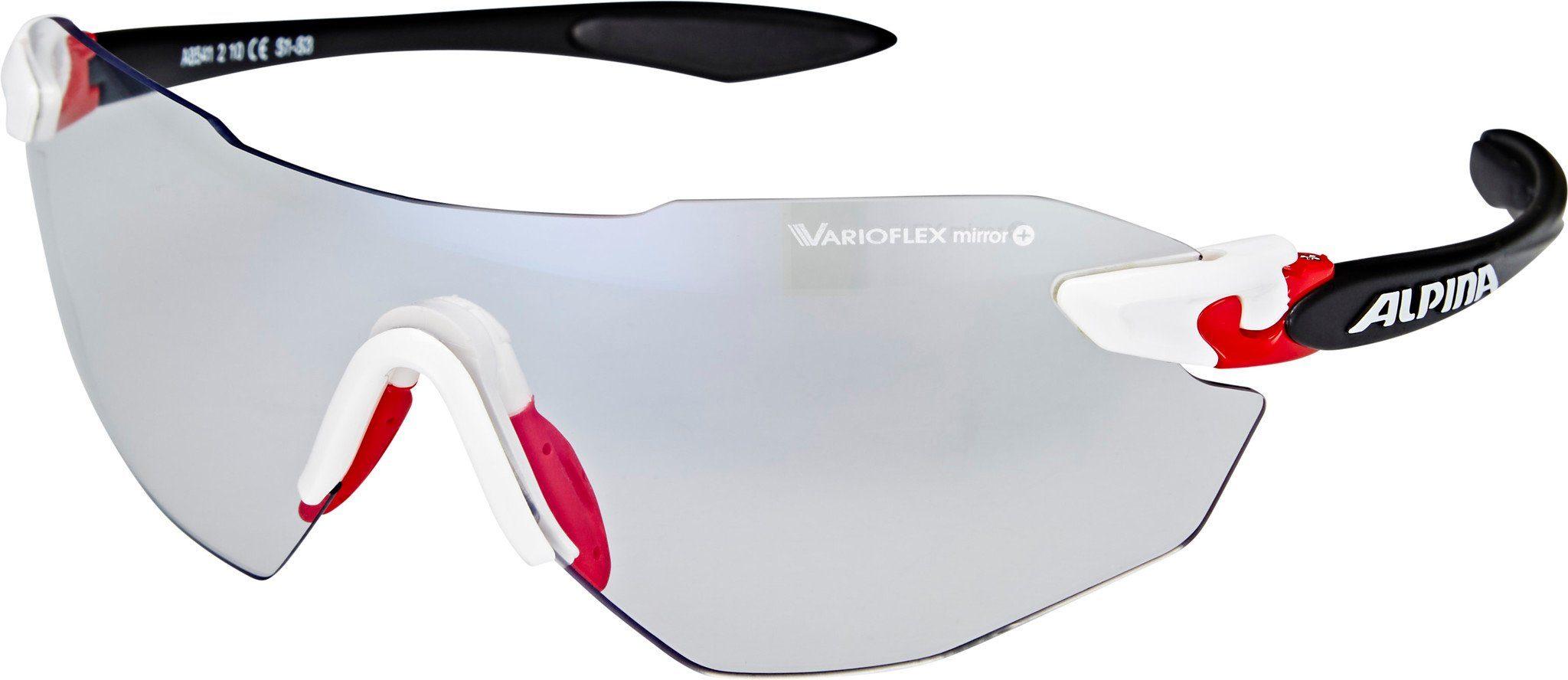 Alpina Radsportbrille »Twist Four Shield RL VLM+«