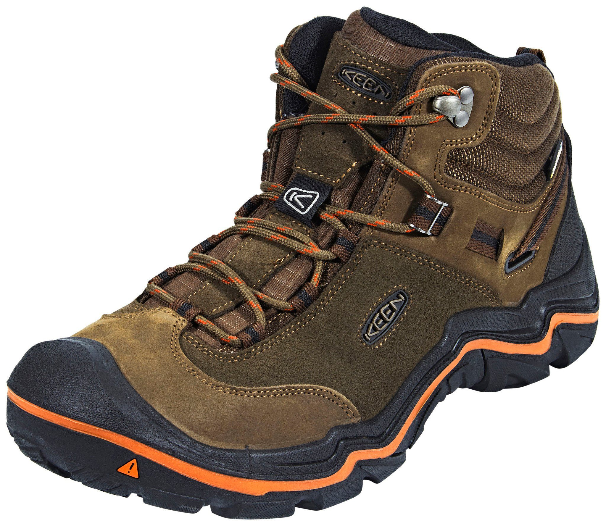 Keen Kletterschuh Wanderer Mid WP Shoes Men  braun