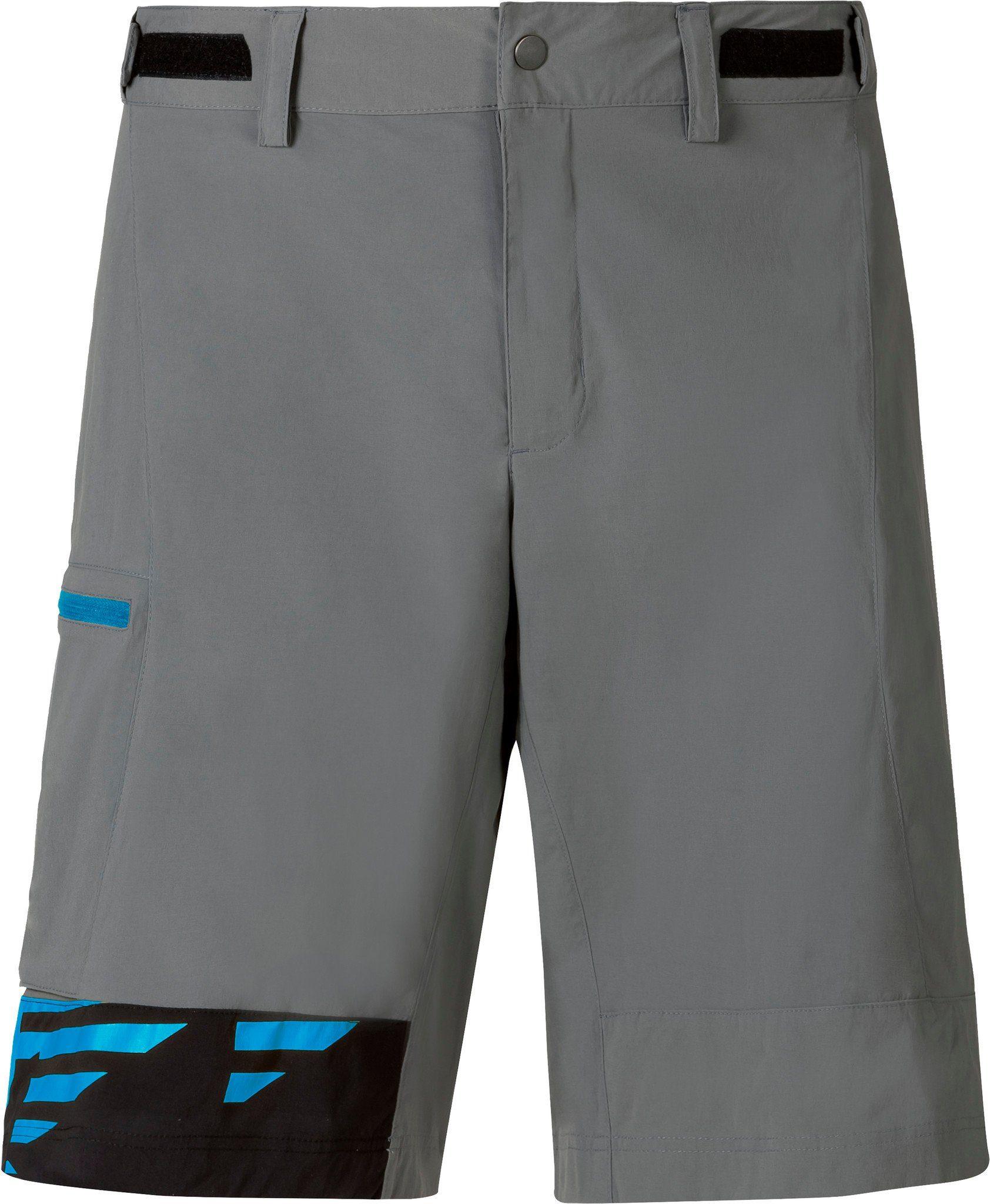 Odlo Radhose »Morzine Shorts Men steel grey-allover print SS17«