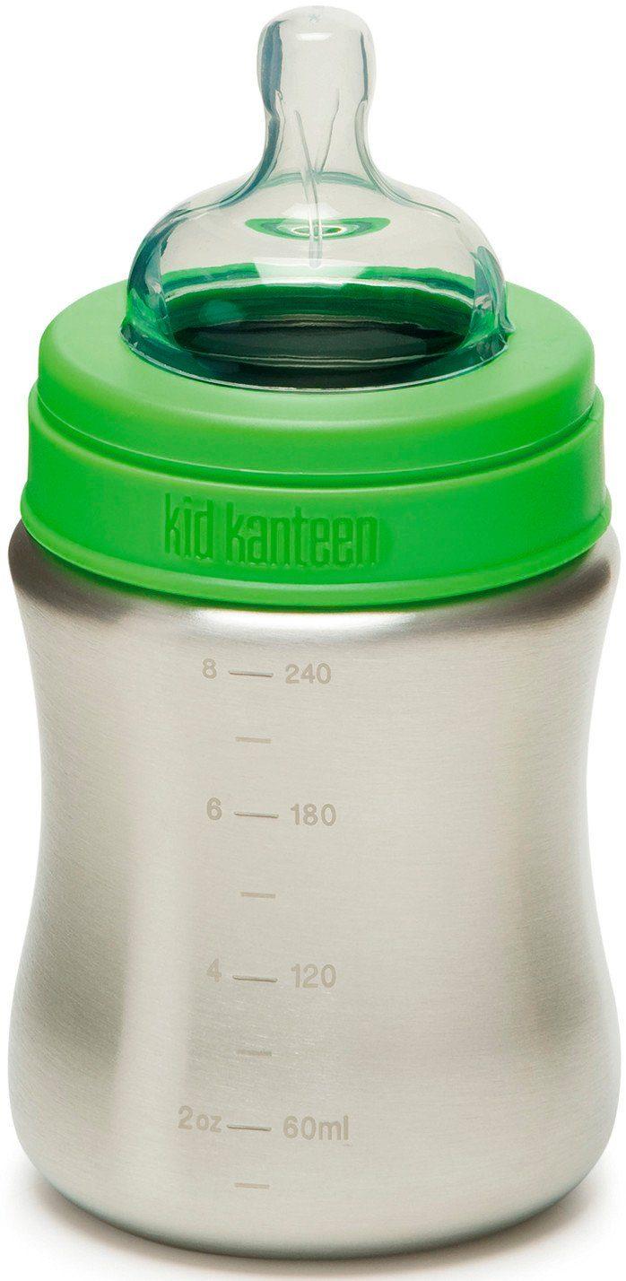 Klean Kanteen Trinkflasche »Kid Kanteen Baby Bottle Medium Flow 267ml«