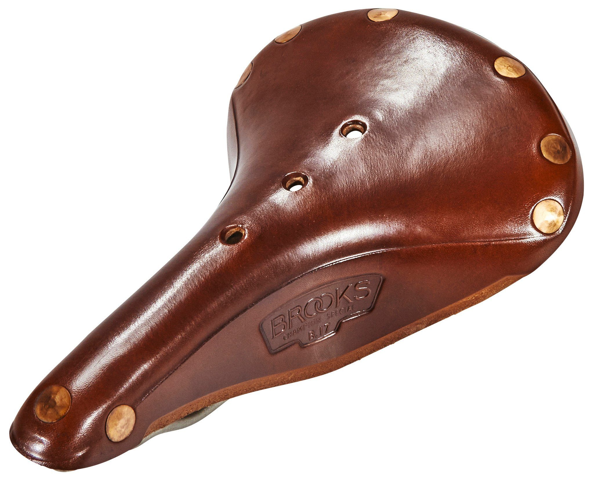 Brooks Fahrradsattel »B17 Titanium Select Sattel«