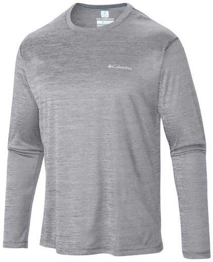 Columbia Sweatshirt Zero Rules Long Sleeved Shirt Men grey heather