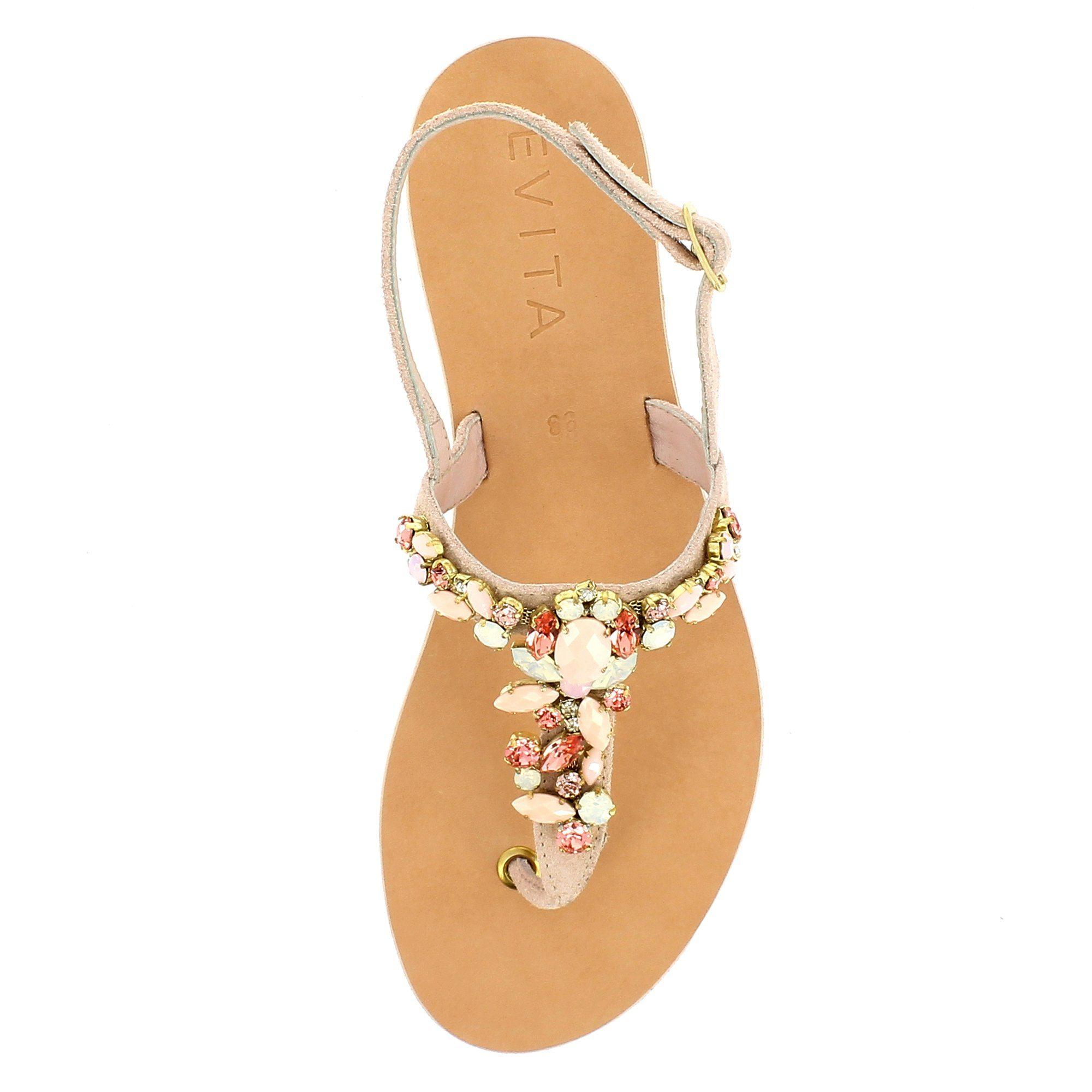 Evita GRETA Sandale online kaufen  altrosa