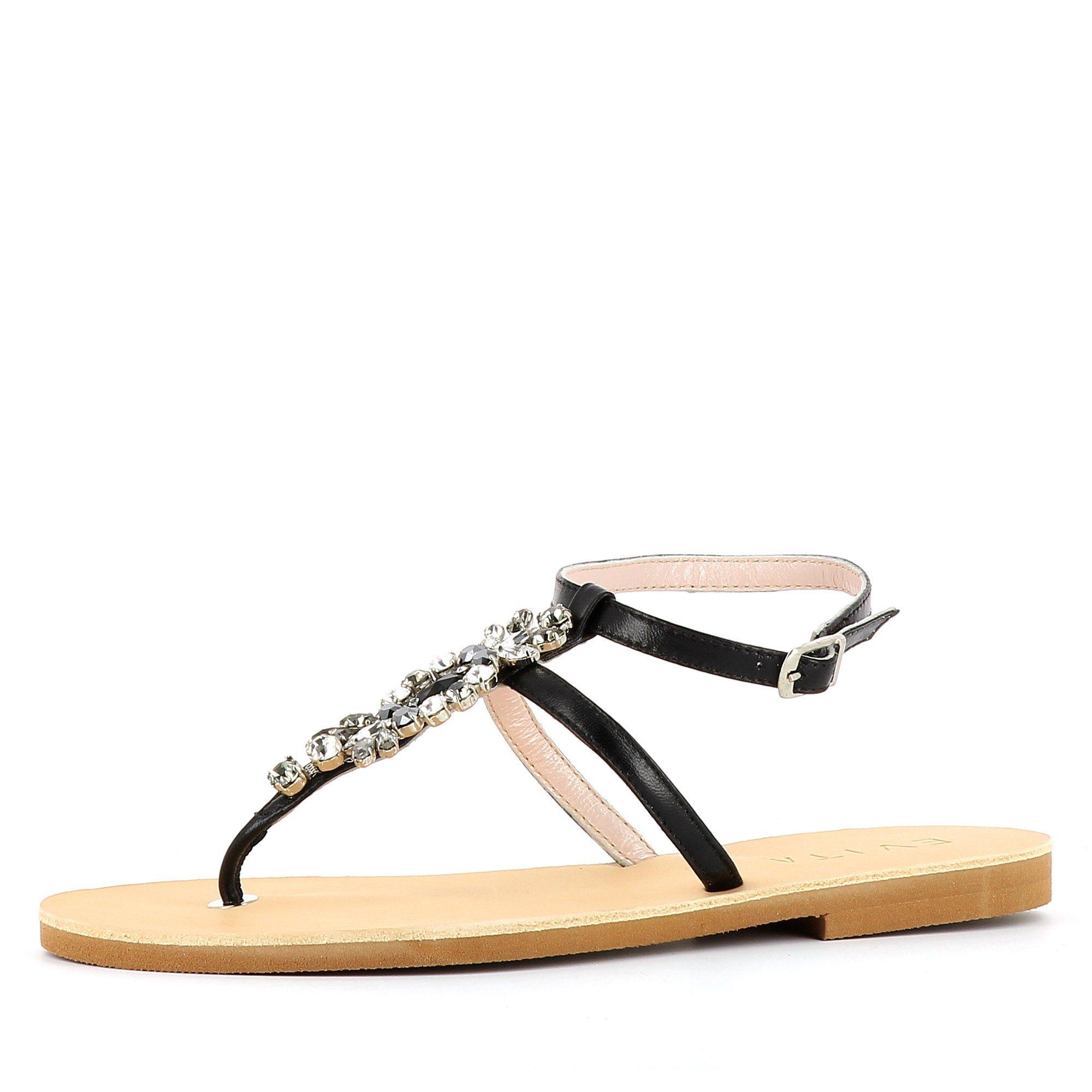 Evita GRETA Riemchensandalette, Sandale kaufen  schwarz