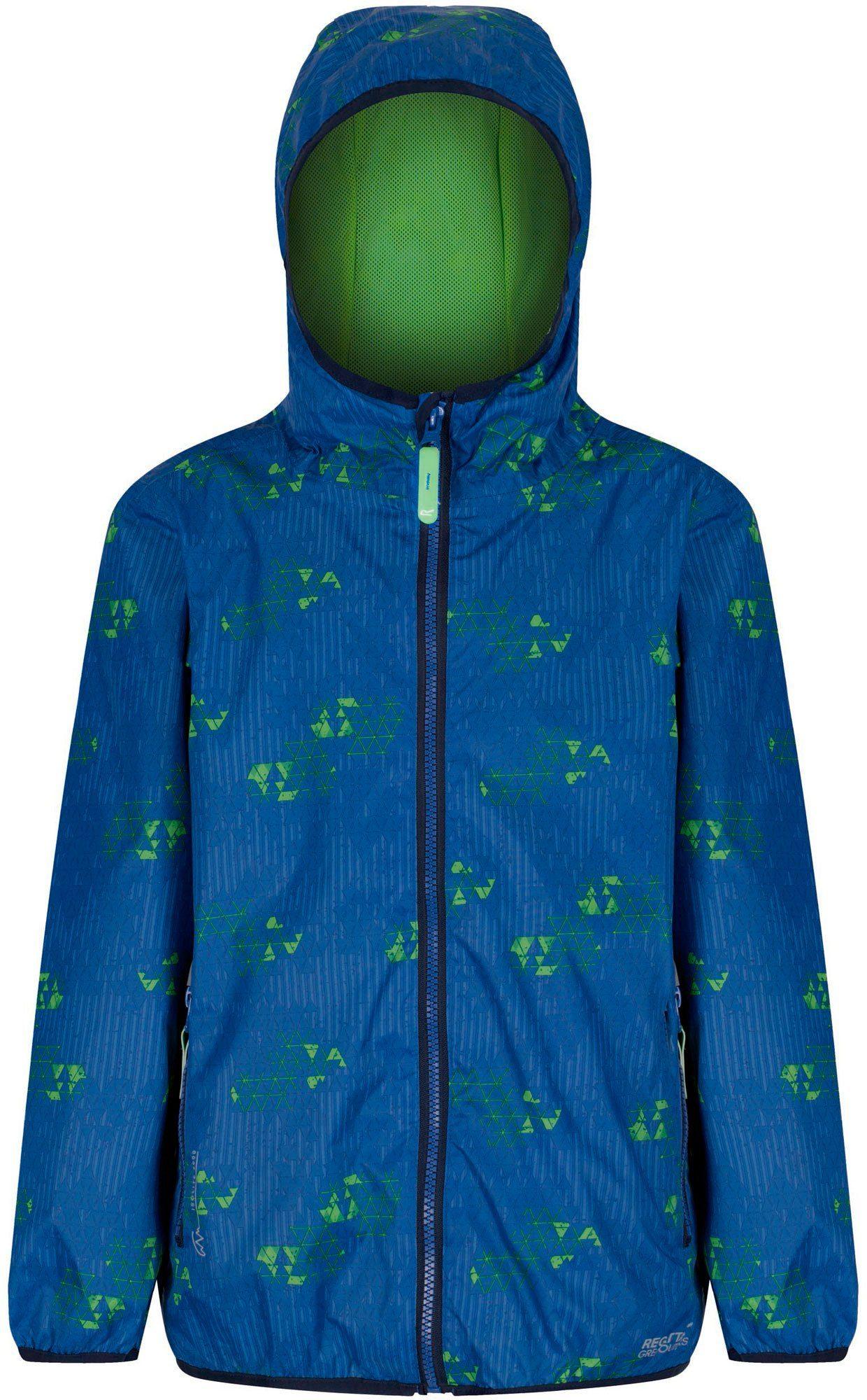 Regatta Outdoorjacke »Printed Lever Jacket Kids Waterproof«