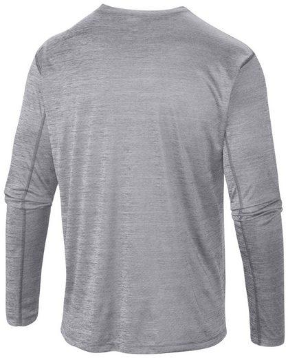 Columbia Sweatshirt Zero Rules Long Sleeved Shirt Men grey heather
