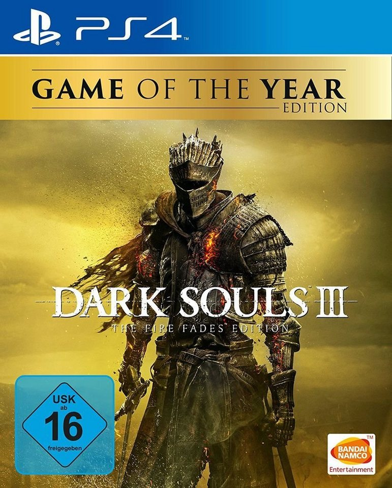 bandai playstation 4 spiel dark souls 3 the fire. Black Bedroom Furniture Sets. Home Design Ideas