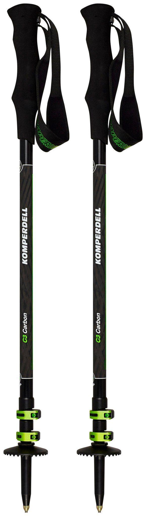 Komperdell Wanderstock »C3 Carbon Powerlock Poles«