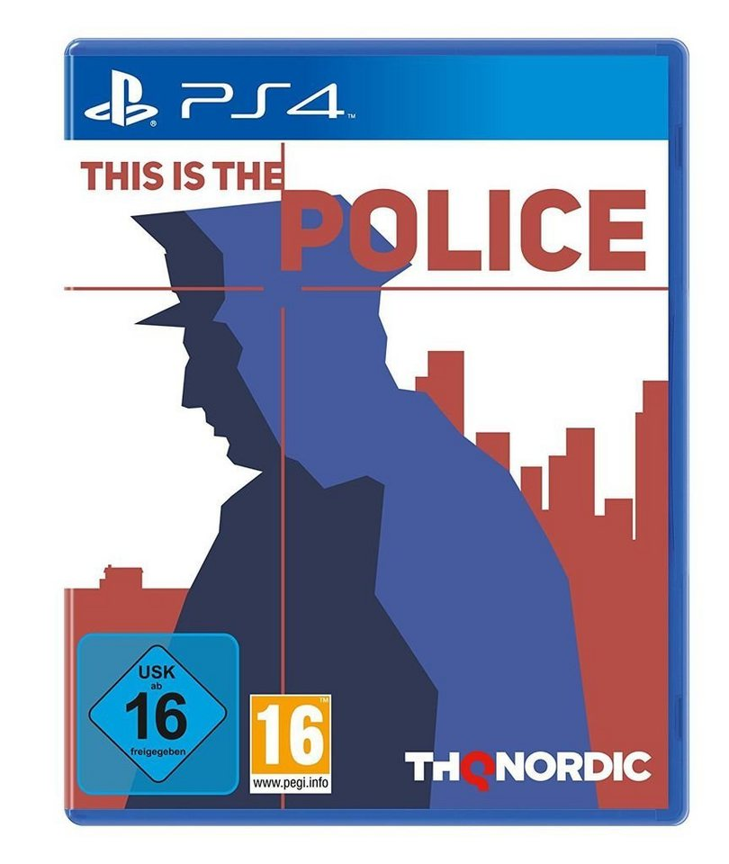 nordic games playstation 4 spiel this is the police. Black Bedroom Furniture Sets. Home Design Ideas
