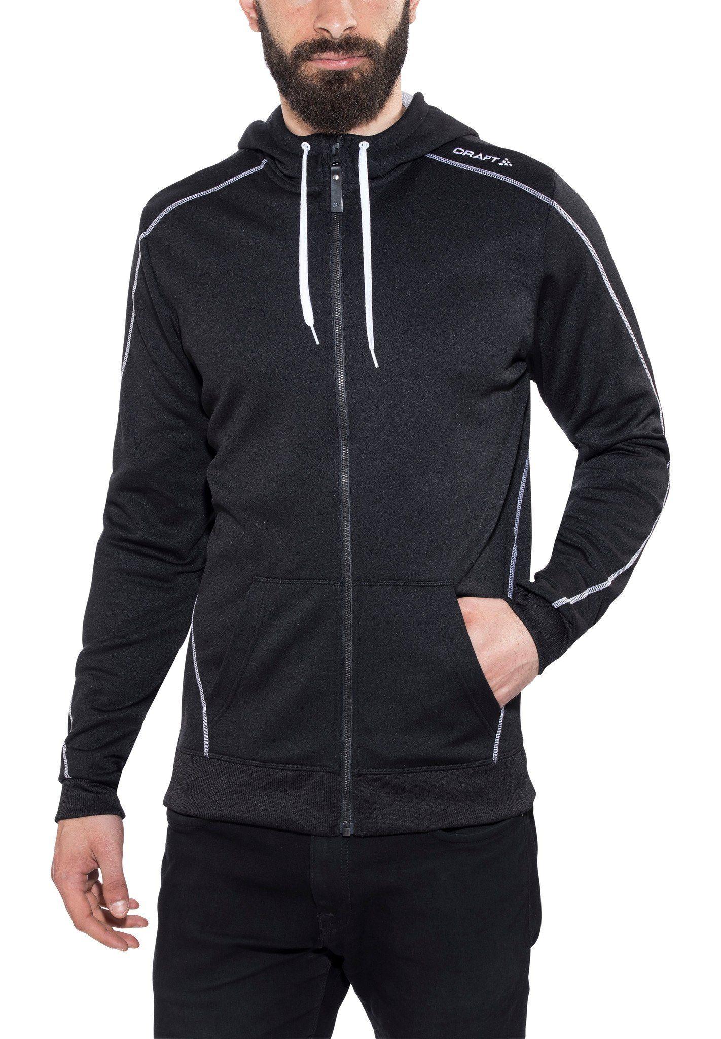 Craft Pullover »In-The-Zone Full Zip Hood Men«